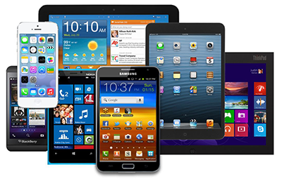 all mobile devices supported with responsive design